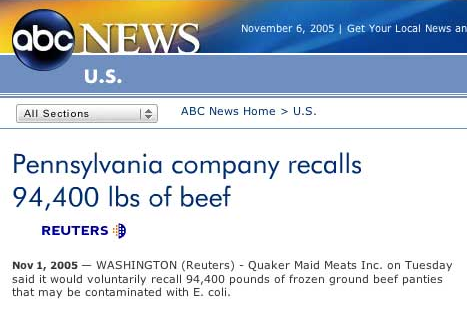 ABC News Beef Panties Article
