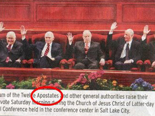 Quorum of the Twelve Apostates