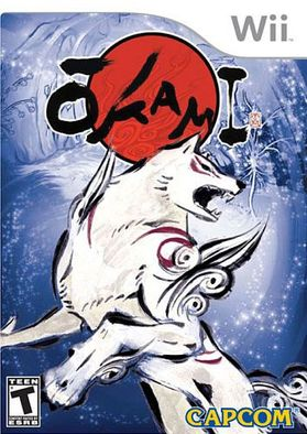 Okami Cover for Wii version