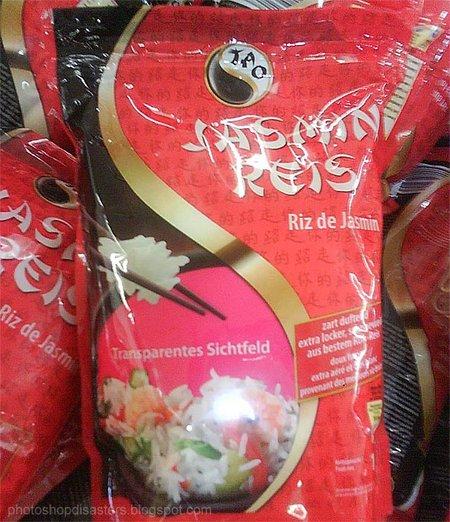 Bag of Jasmin Rice