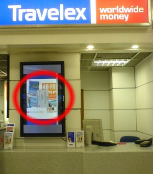 Travelex Crash Screen